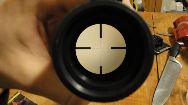 FFP Enhanced Mil Dot Reticle (EMD)