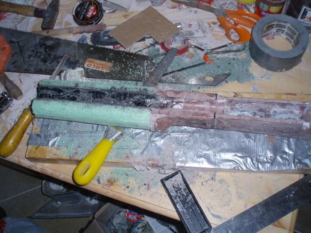 Med rasp og fil ble forskjeftet formet.
