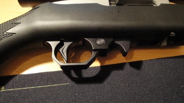 Eier av våpenet har montert KIDD avtrekker.
