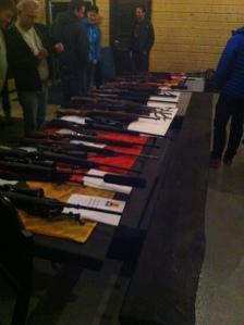 ABC Fritid stilte med gode tilbud på våpen.